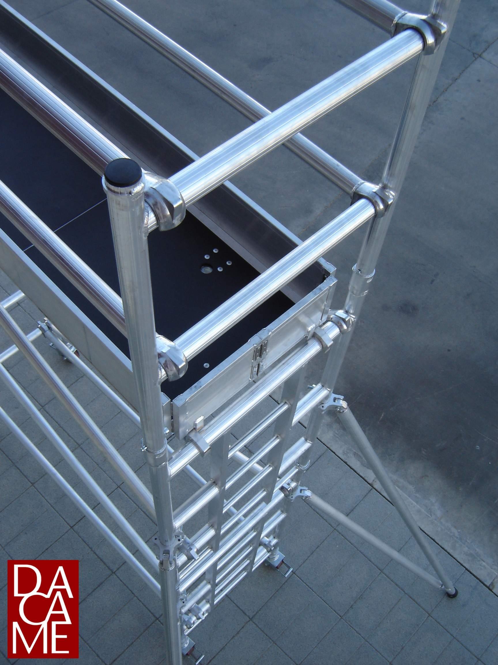 roulant aluminium alu 50 dacame. Black Bedroom Furniture Sets. Home Design Ideas